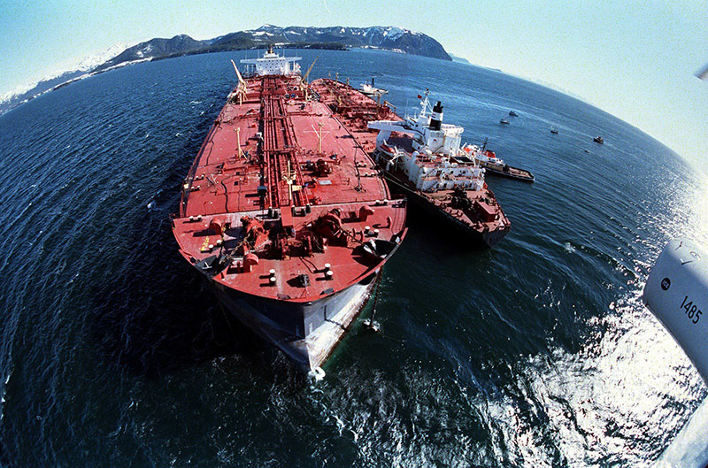 A megfeneklett Exxon Valdez