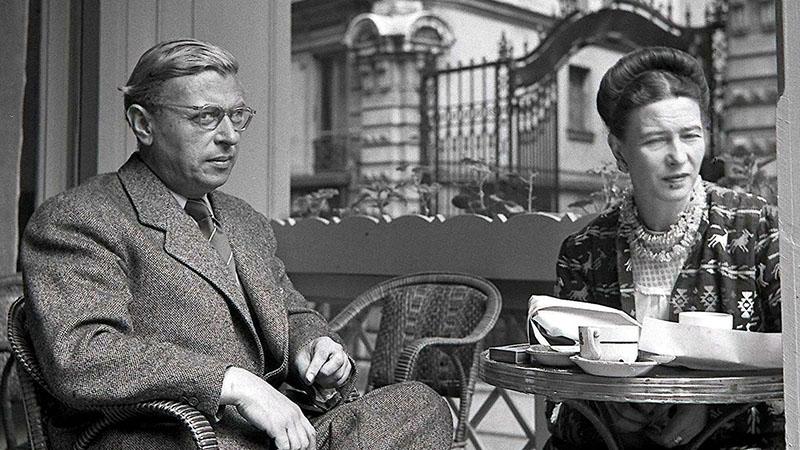 Sartre és Beauvoir