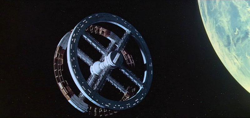 A Stanley Kubrick rendezte 2001 Űrodisszeia című film űrállomása