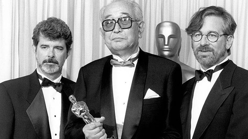 George Lucas, Akira Kurosawa és Steven Spielberg