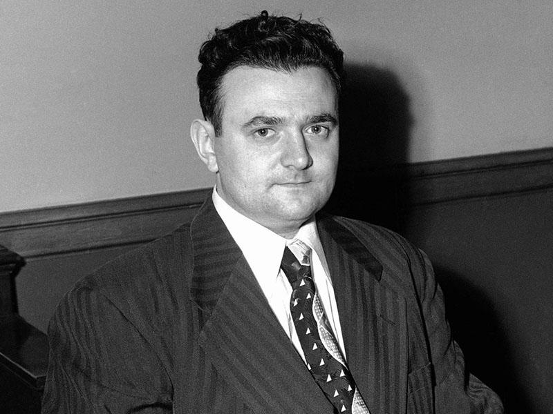 David Greenglass, aki adatokat lopott a Manhattan-tervből