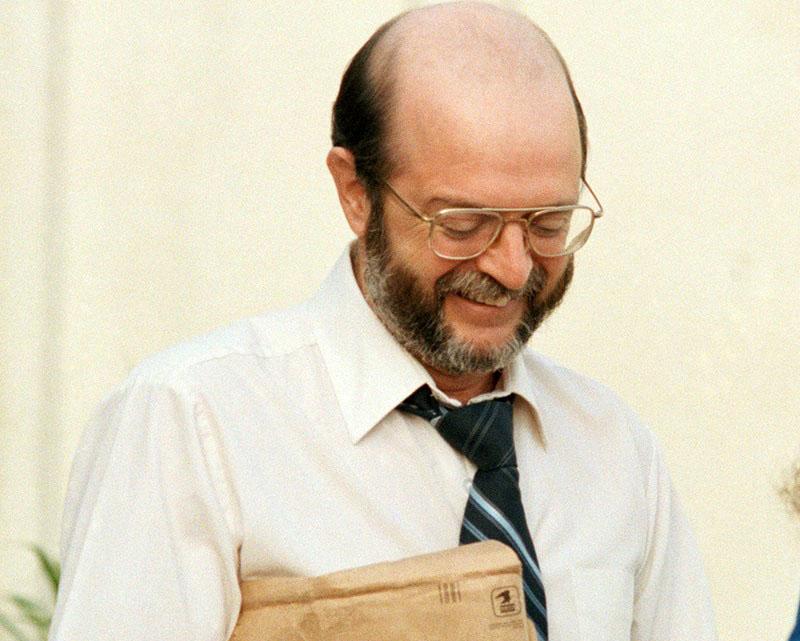 John A. Walker ügye egyik újratárgyalásán 1985-ben