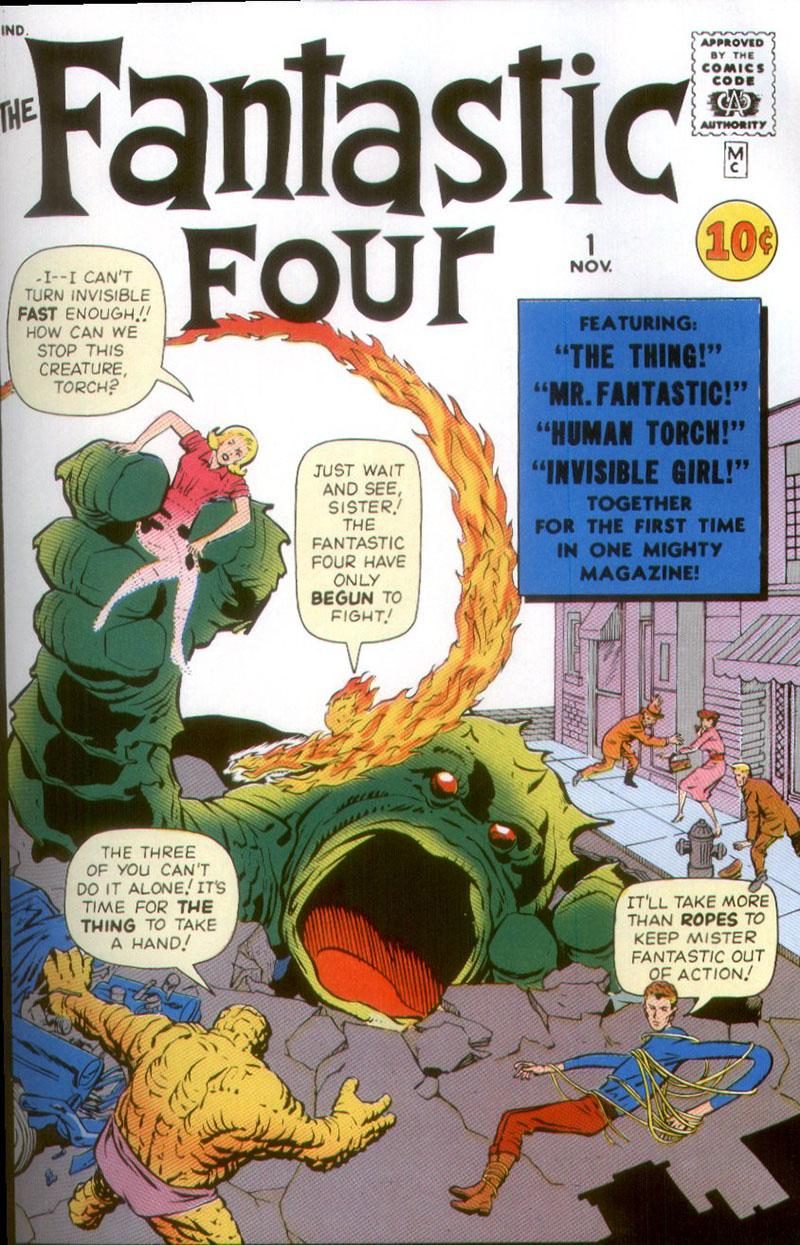 Fantasztikus négyes, 1. szám (1961. november)