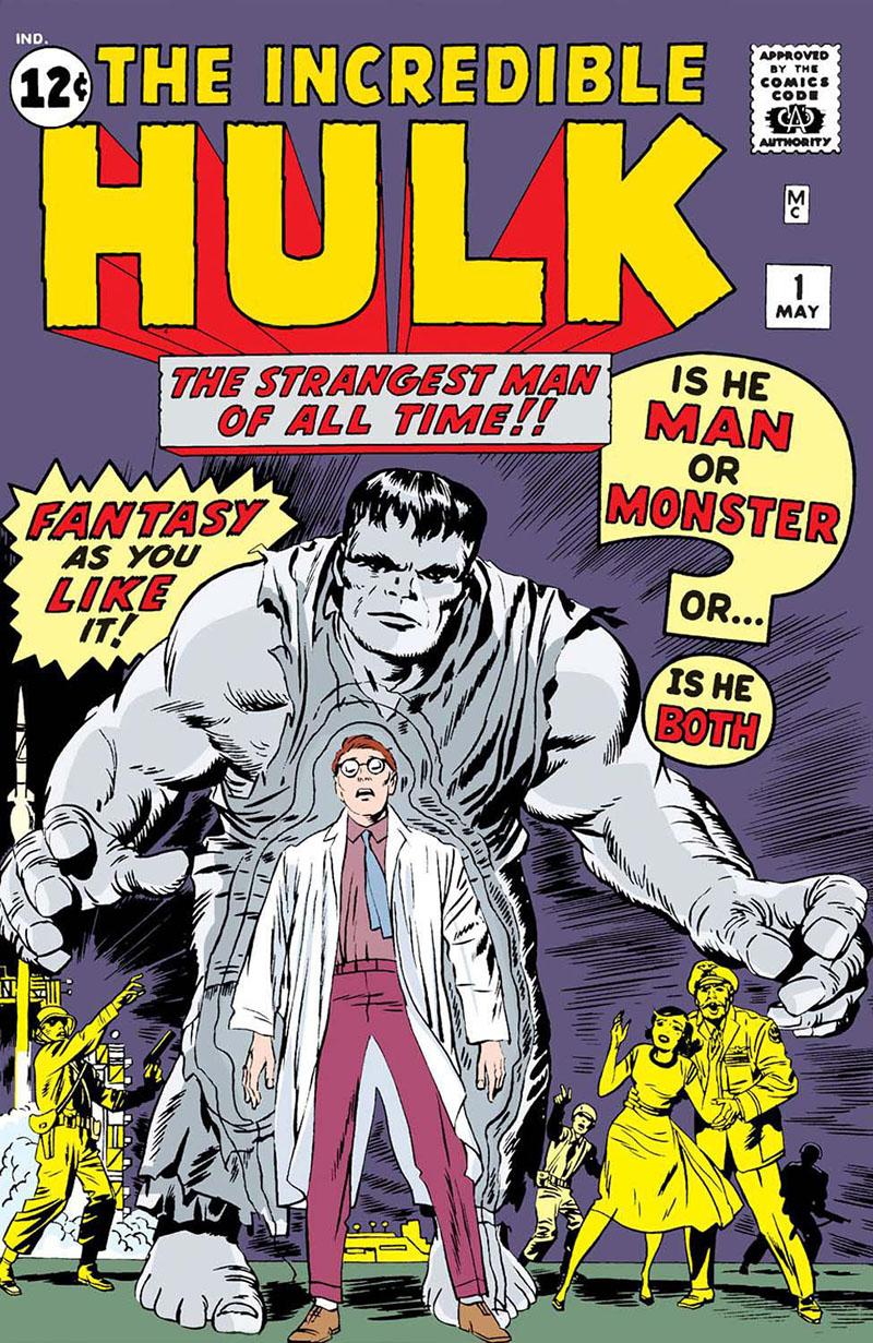 A hihetetlen Hulk, 1. szám, (1962. május)