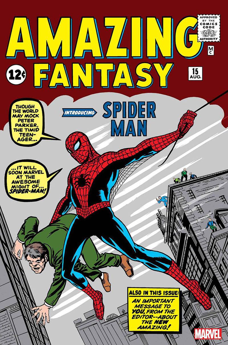 Amazing Fantasy, 15. szám (1962. augusztus)