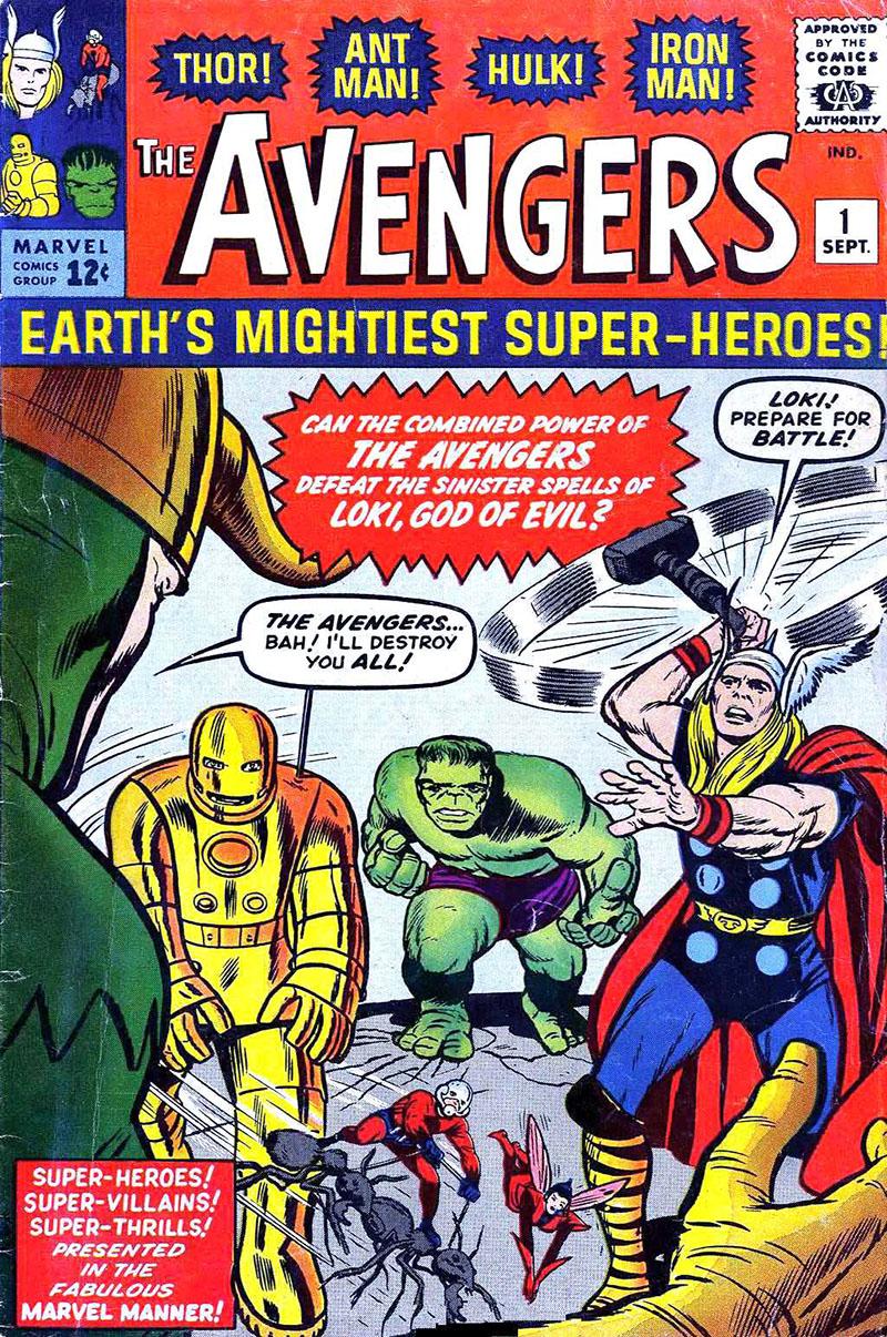 Avengers, 1. szám (1963. szeptember)