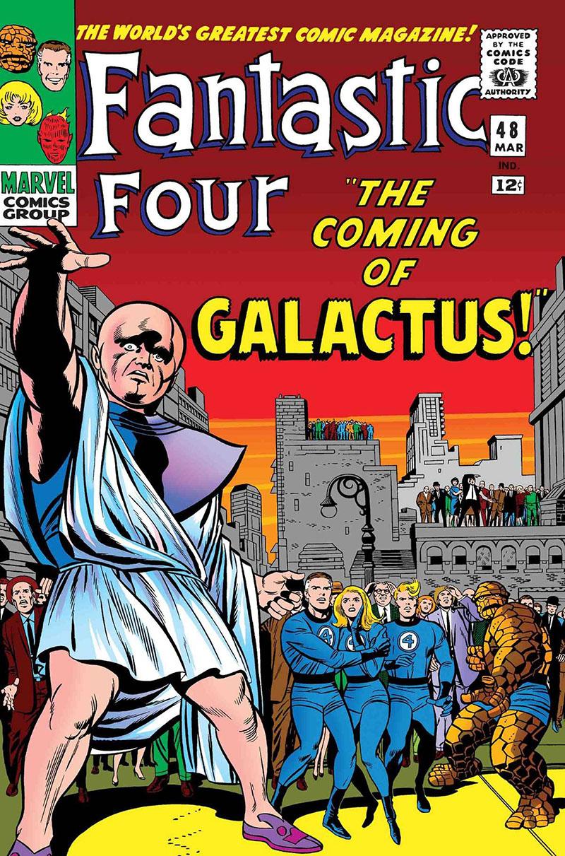 Fantasztikus négyes, 48-50. szám (1966. március-június)