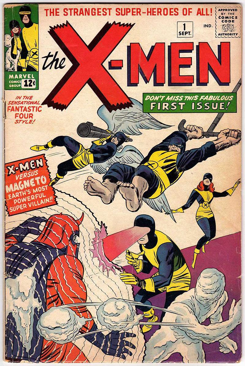 X-Men, 1. szám (1963. szeptember)