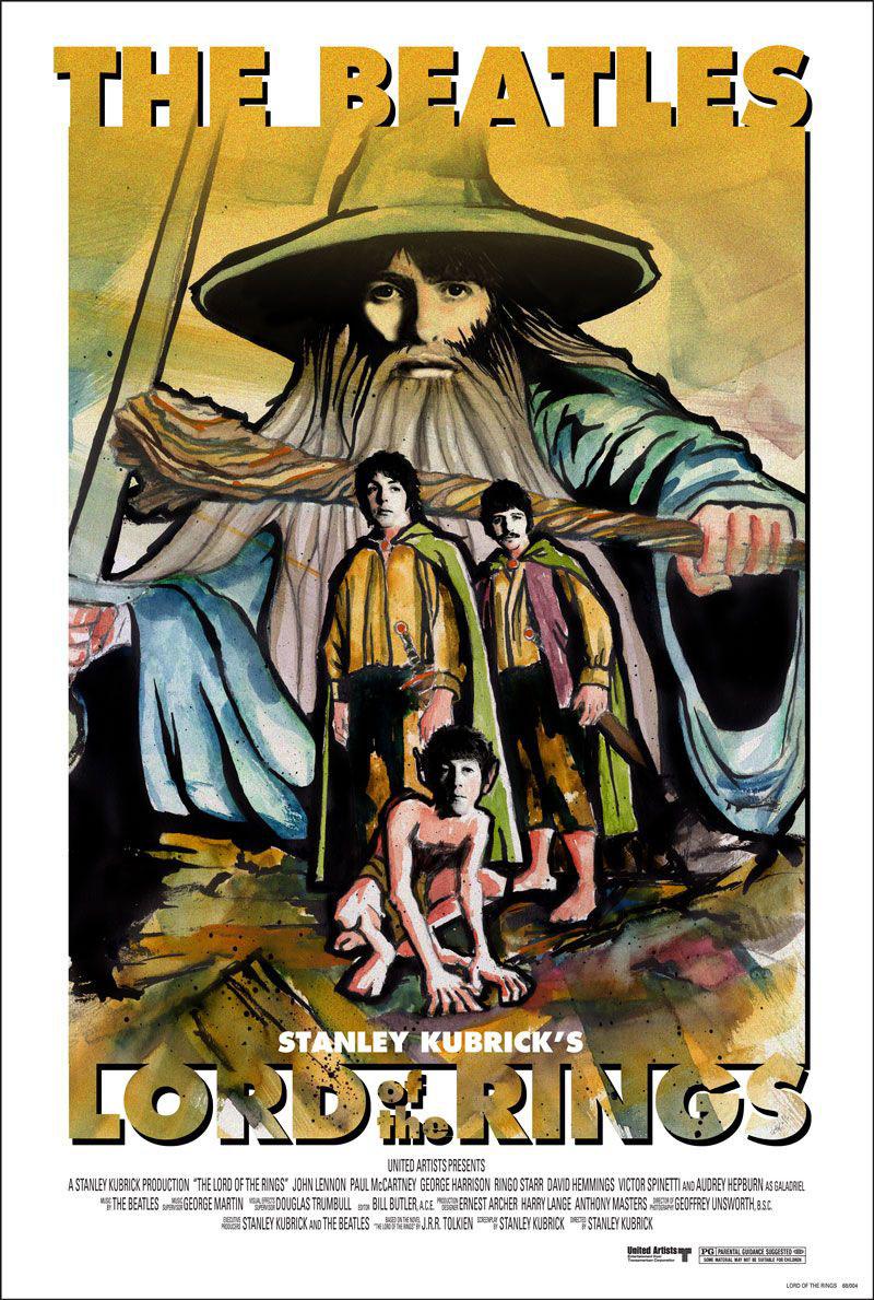 Főszerepben a The Beatles, a rendezői székben Stanley Kubrick?