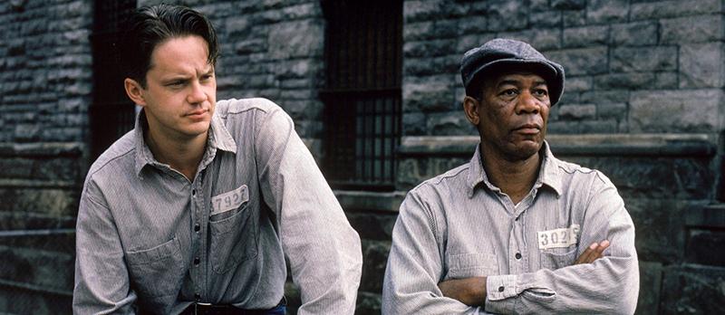 Jelenleg a világ egyik legnépszerűbb filmjének számító A remény rabjai