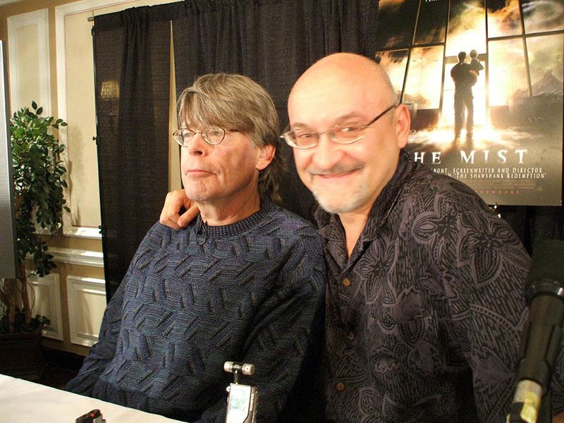 King és Frank Darabont, a Halálsoron, és A remény rabjai rendezője