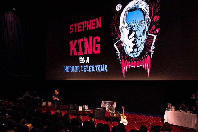 Stephen King és a horror lélektana /Fotó: Bärlein Martin/