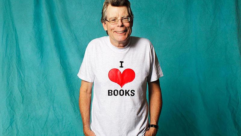 Stephen King nagyjából 400 millió eladott példánynál jár világszerte
