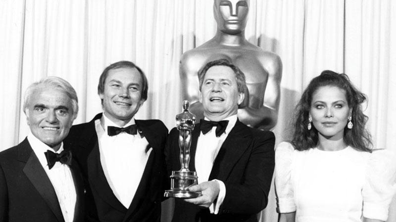 Szabó István a Mephisto című filmért kapott Oscar-díjjal