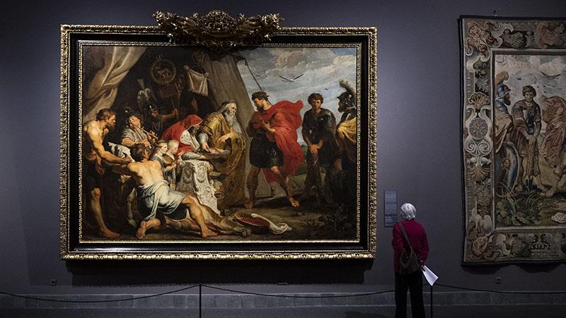 Óriási érdeklődés övezi a Rubens-kiállítást