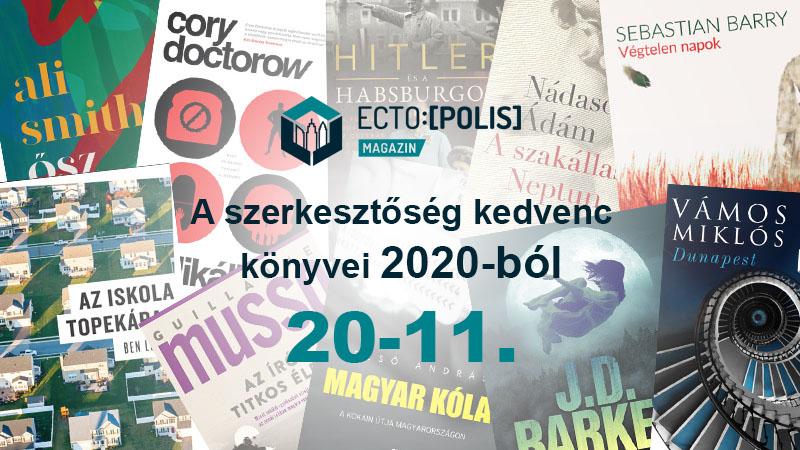 A szerkesztőség kedvenc könyvei - 20-11.