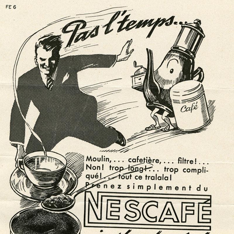 Az 1938-as NESCAFÉ