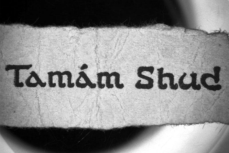 Tamam Shud-ügy