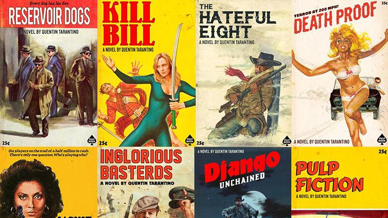 Fantáziarajzokon Tarantino eddigi filmjei