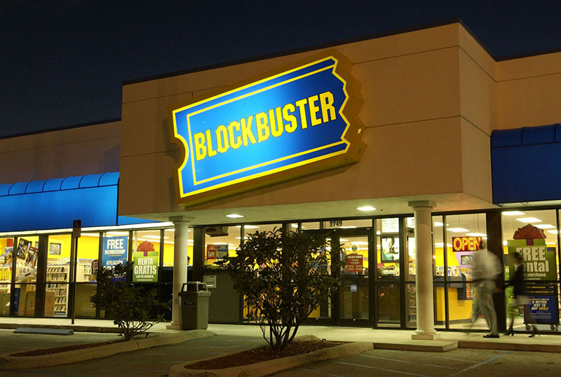 A Blockbuster, mely élre állt a videotéka kultúrában