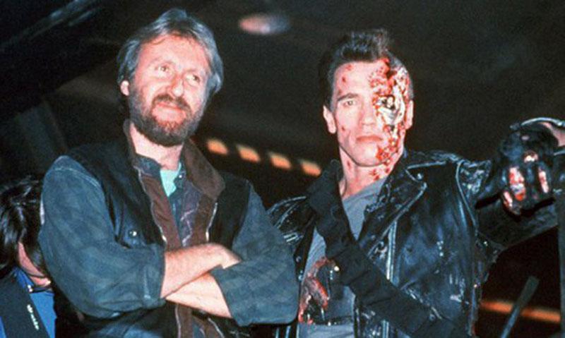 Cameron és Schwarzenegger