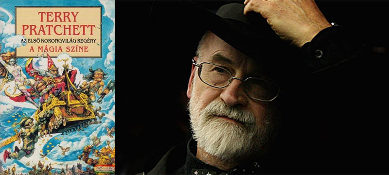 Terry Pratchett és az első Korongvilág-regény