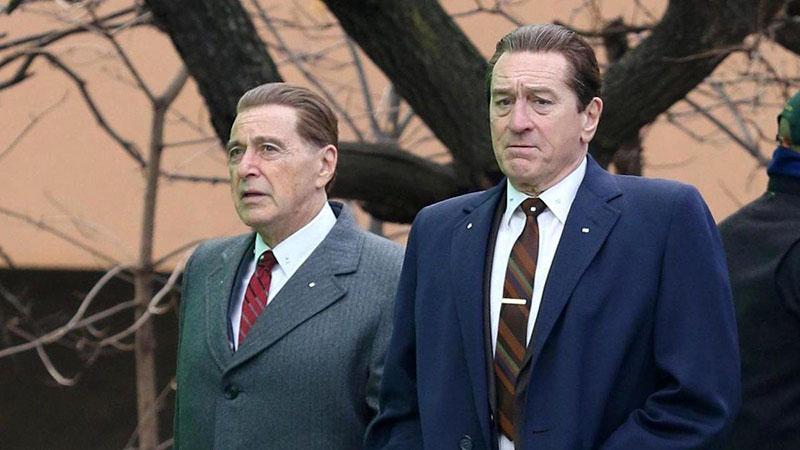 Al Pacino és Robert de Niro a The Irishman-ben