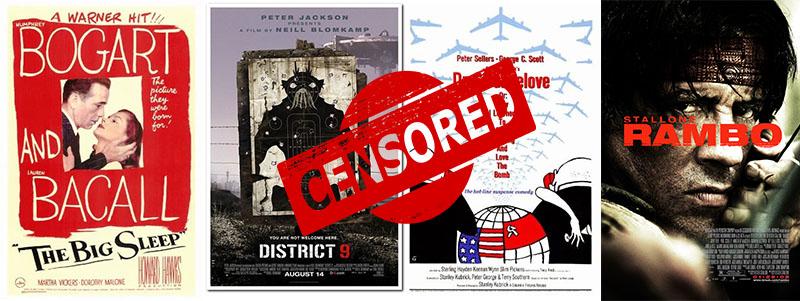 Filmek, melyek áldozatul estek a cenzúrának