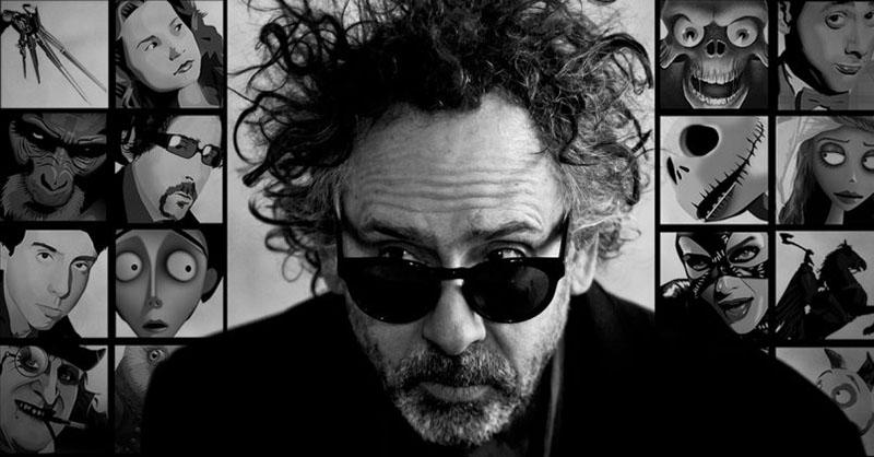 A különc, Tim Burton