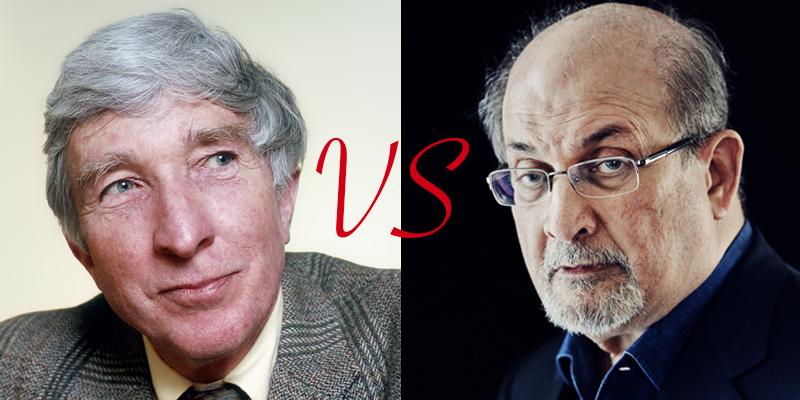 John Updike vs. Salman Rushdie