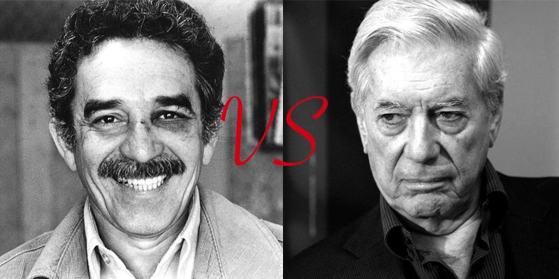 Gabriel García Márquez vs. Mario Vargas Llosa