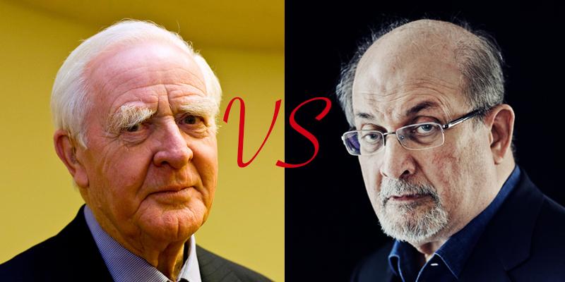 John le Carré és Salman Rushdie