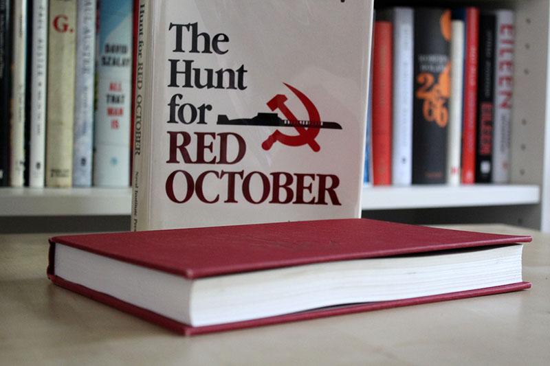 A Vadászat a Vörös Októberre első amerikai kiadása