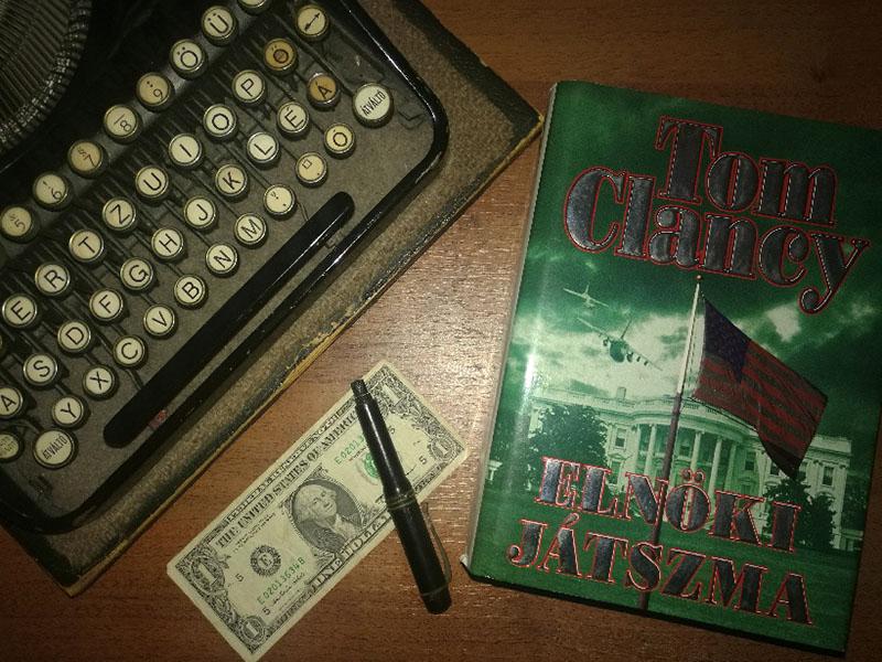 Clancy regényei Magyarországon a mai napig kelendőek