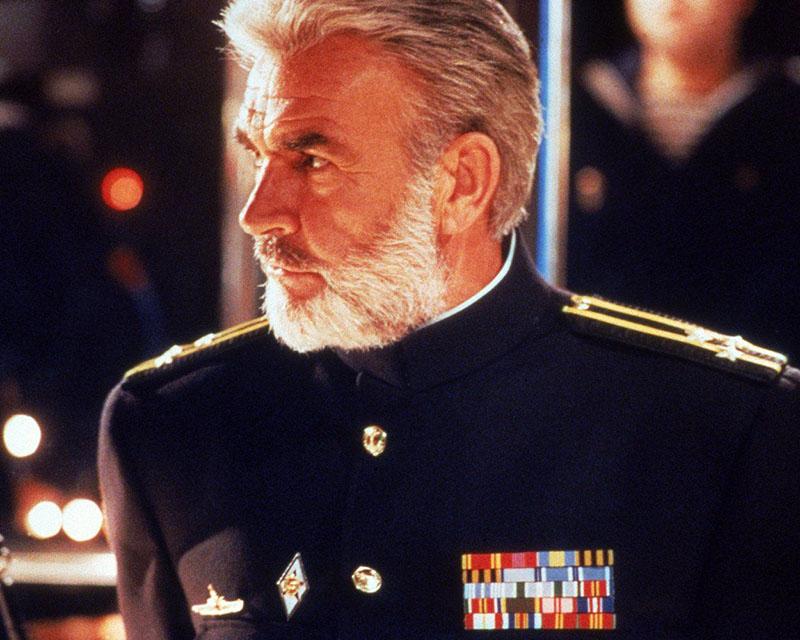 Sean Connery Marko Ramius szerepében