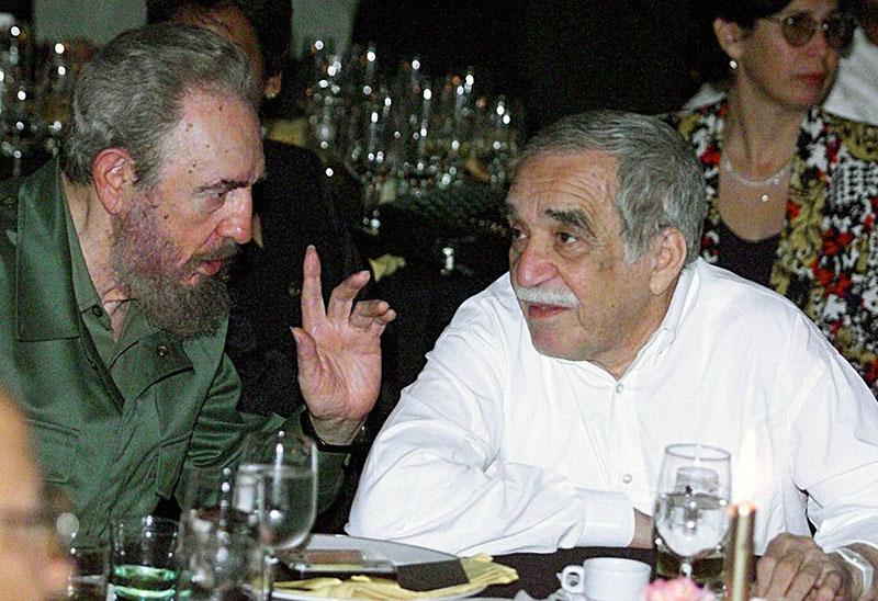 Fidel Castro és Gabriel Garcia Marquez