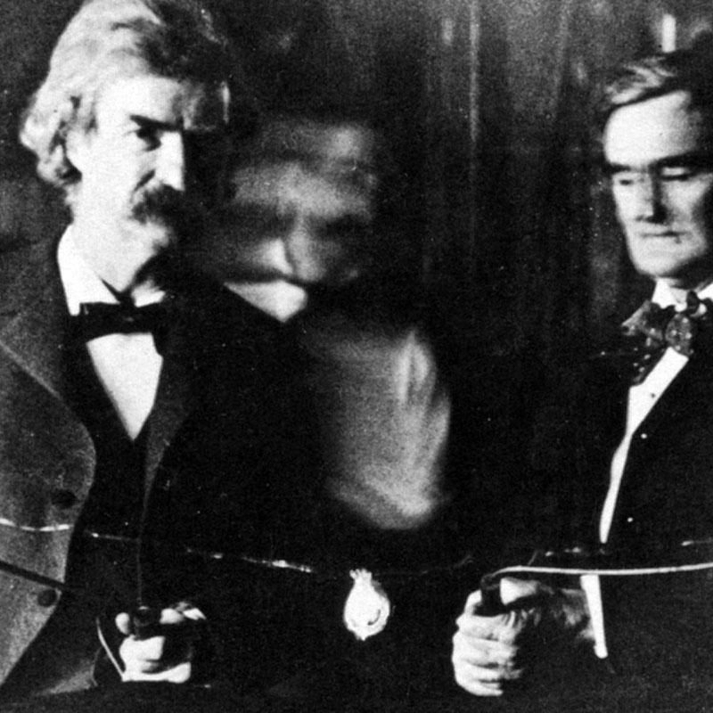 Mark Twain és Nikola Tesla
