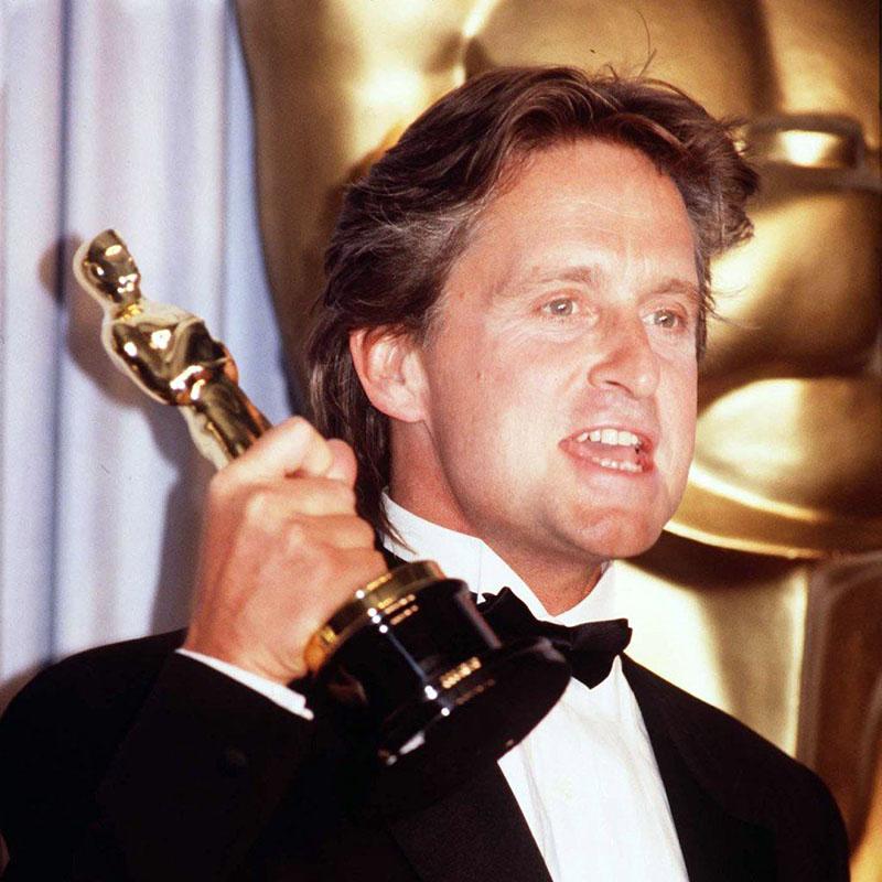 Michael Douglas és a legjobb férfi főszereplő Oscar-díja