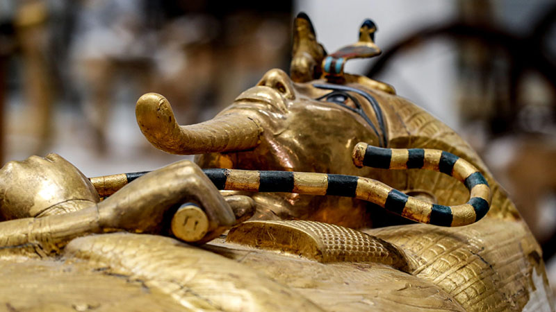 Tutanhamon kiállítás Budapesten