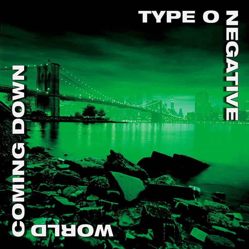 A legendássá vált zöld lemezborítók, köztük az 1999-es World Coming Down