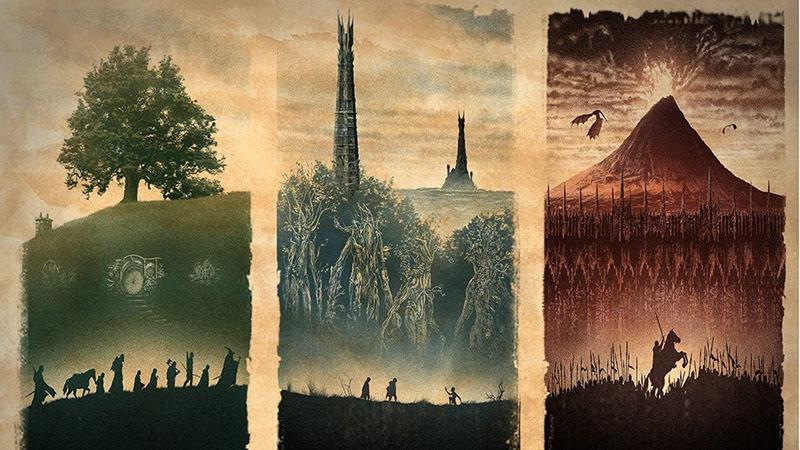 Tolkien sosem tartotta magát tehetséges rajzolónak, mégis korábban A hobbit is megjelent saját illusztrációival