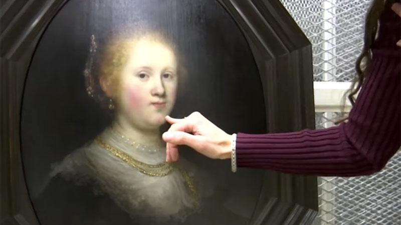 Fiatal nő arcképe