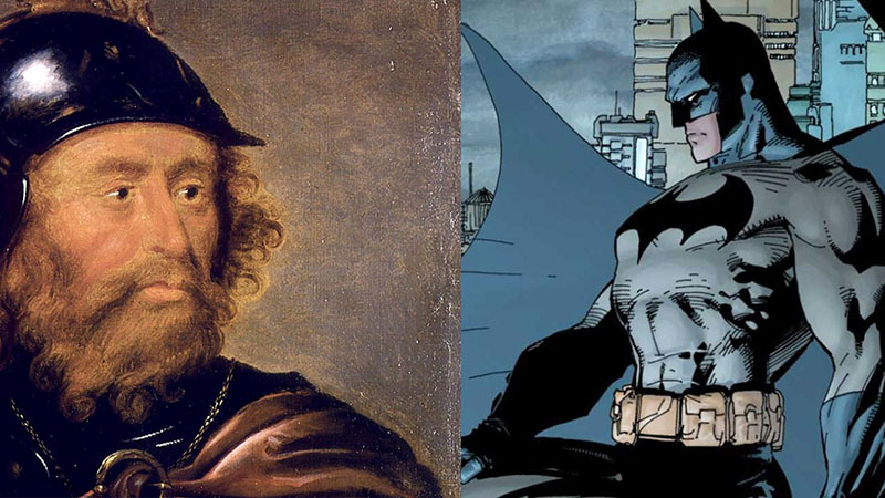Bruce Wayne (ihletője Robert of Bruce)