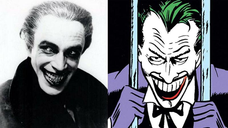 Joker (ihletője Conrad Veidt)