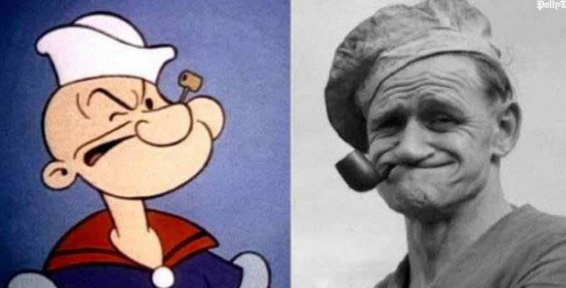"""Popeye (ihletője Frank """"Rocky"""" Fiegel)"""