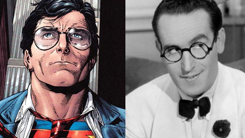 Clark Kent (ihletője Harold Lloyd)
