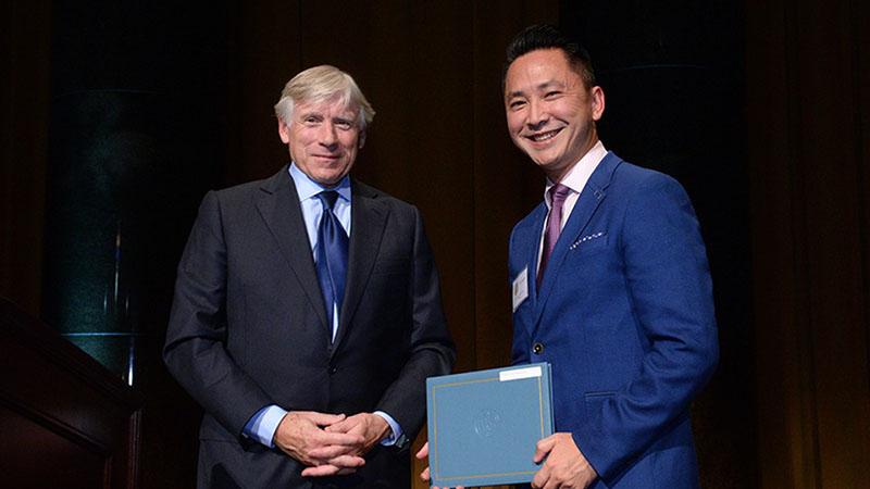 A Pulitzer-díj átadó ünnepségén