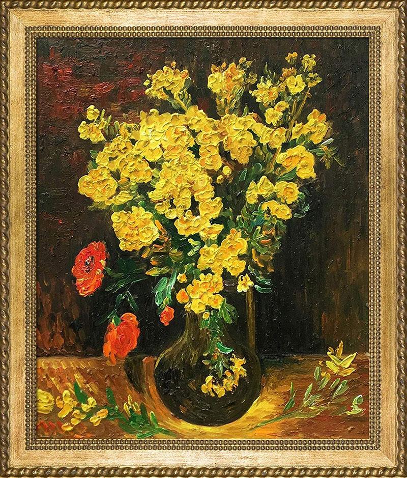 Vincent Van Gogh: Váza és virág