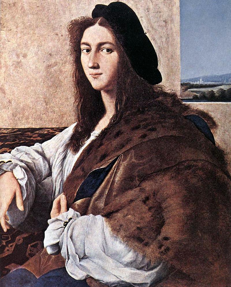 Raffaello: Egy fiatal férfi portréja