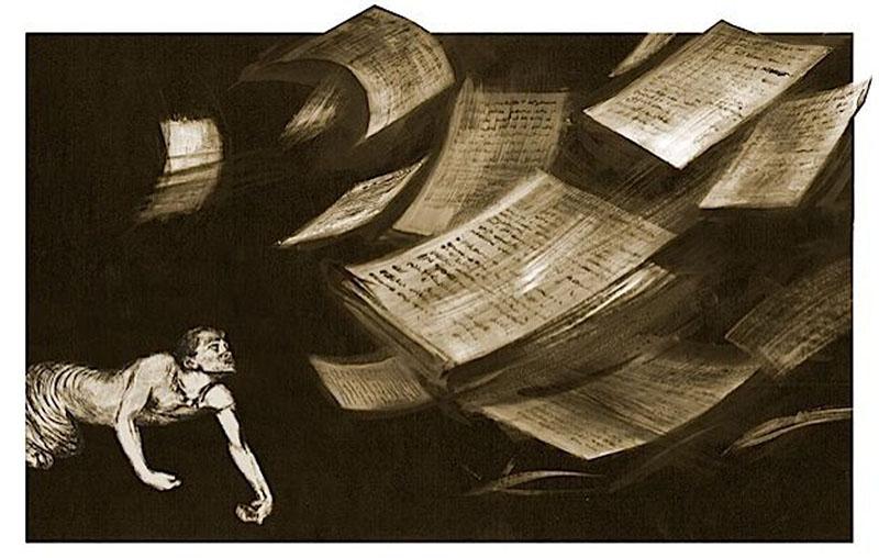 Az elveszett kéziratok esete